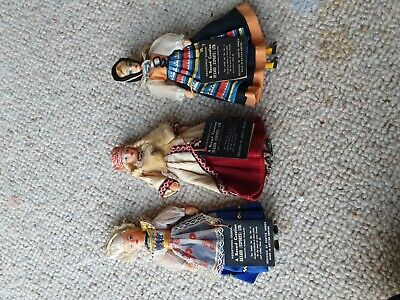 Vintage Rexard Creation Dolls In National Costume • 2.40£