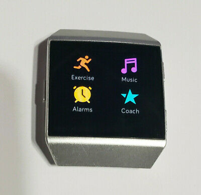 $ CDN71.35 • Buy USED Fitbit Ionic Fitness Smartwatch Silver FACE ONLY - NO BAND OR CHARGER