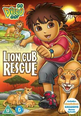 Go Diego Go: Lion Cub Rescue [DVD], Good DVD, , • 4.03£