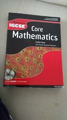 Heinemann IGCSE Core Mathematics Student Book With Exam Cafe CD By Colin Nye (Mi • 10£