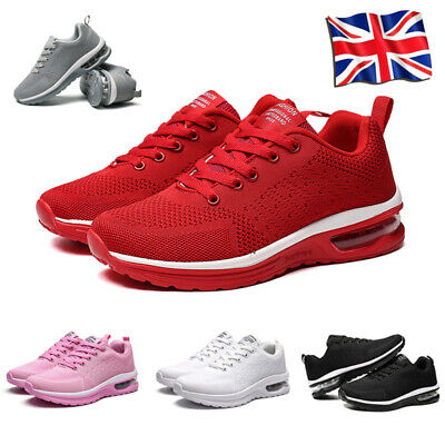 Mens Womens Casual Running Gym Sports Shoes Trainers Comfort Breathable Sneakers • 16.99£
