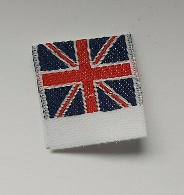 Woven Made In The Uk Labels  X 10 • 3£