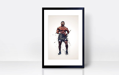 Mike Tyson Wall Print | A4 | Wall Art | Gift | Home Decor | Kitchen | Boxing • 3.99£