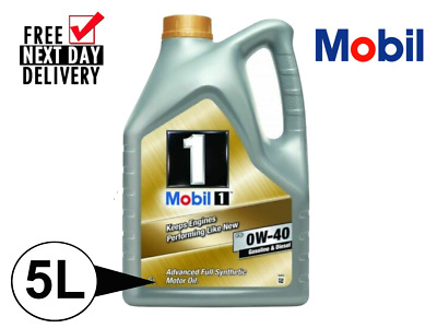 Mobil 1 Fs 0w40 5l (153669) **warehouse Clearance**fully Synthetic**non Dpf** • 39.99£