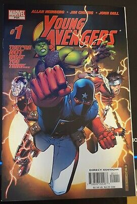 Marvel Comics Young Avengers #1 VF (2005) 1st Kate Bishop • 19.99£