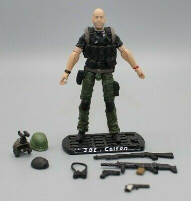 $ CDN39.19 • Buy GI JOE Retaliation 3.75 JOE COLTON BRUCE WILLIS Loose Custom Action Figure