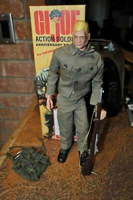 $ CDN78.39 • Buy GI Joe Vintage 1964 Blonde Hair Action Soldier TM Crazy Eyes With Repo Box