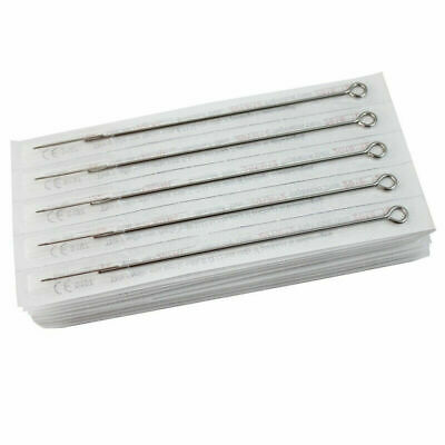 AU17.10 • Buy 100pcs Stainless Steel Tattooing Needles 1RL 3RL 5RL 7RL 9RL Tattooing Tool L9C9