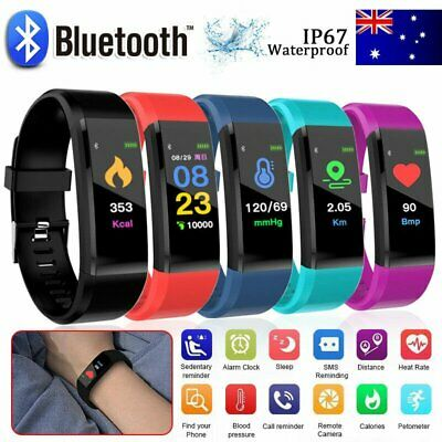 AU12.96 • Buy Smart Watch Band Sport Activity Fitness Tracker For Kids Fit For Android IOS ZV