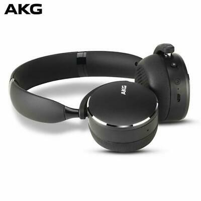AKG Y500 On The Ear Wireless Headphones - Black - BRAND NEW SEALED • 45.99£