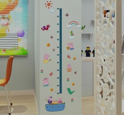 Children Height Growth Chart Measure Wall Sticker (pm For Choosing Style) • 4.50£