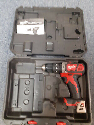 Milwakee M18 Bpd-302c Drill And Case Only No Charger Or Battery • 32£