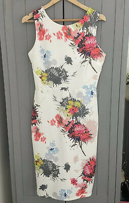 Next Ladies Dress 12 Sun Summer Holiday Work Shift Occasion Floral Day Flower  • 4£