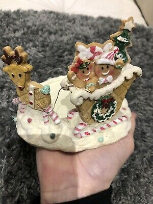 Yankee Candle Gingerbread Jar Holder Christmas • 25£
