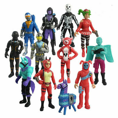 12pc Fortnight Fortnite PVC Action Figure Pack Game Collection Toy Doll Playset • 14.69£