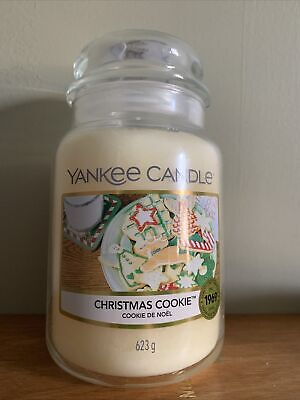 YANKEE CANDLE CHRISTMAS COOKIE CLASSIC LARGE JAR BRAND NEW 623g • 16.99£
