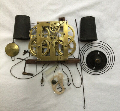 American Clock Movement. Complete. From OG Wall Clock. • 30£