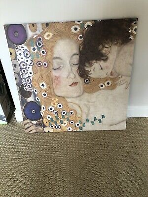 Mother And Child Large Canvas From Ikea Ready To Hang • 10£