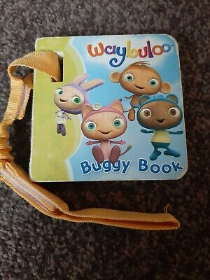 Waybuloo Buggy/Car Seat Board Book With Attachable Strap Cbeebies Baby/Toddler  • 2£