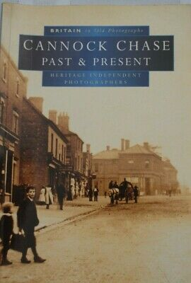 Cannock Chase Past & Present In Old Photographs Book • 4£
