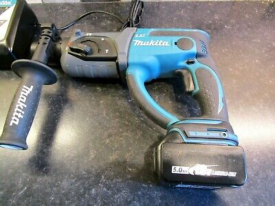 Makita DHR202 Lxt 18v Sds+ Hammer Drill Breaker, Charger And Two 5ah Batteries • 240£
