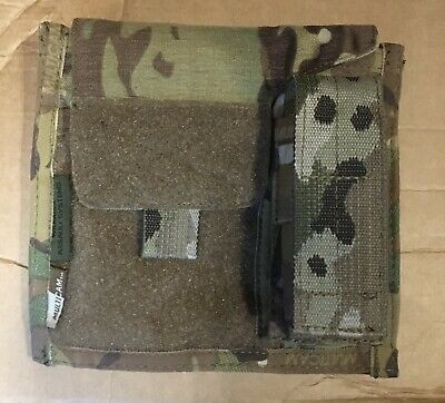 Warrior Assault Systems Mtp Multicam Molle Admin Panel Pouch • 14.99£