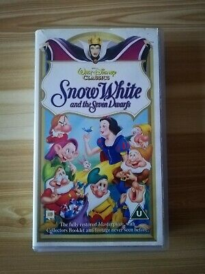 Walt Disney Classics Snow White And The Seven Dwarfs • 8.99£