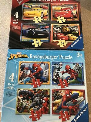 Jigsaw Puzzles Bundle Spiderman And Cars  • 4£
