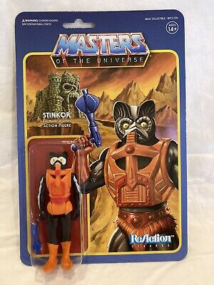 $40 • Buy STINKOR | Masters Of The Universe / MOTU | ReAction | Super7, 2018 | He-Man