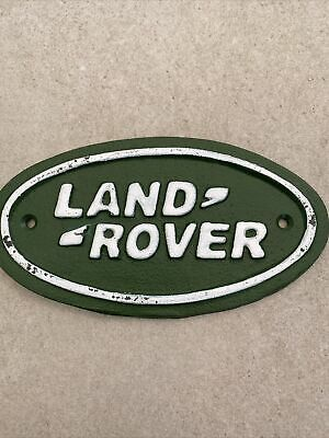 Land Rover Metal Sign • 10.50£