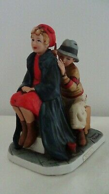 $ CDN24.25 • Buy Norman Rockwell The Young Artist Porcelain Figurines #1 Sat Eve Post Club Signed
