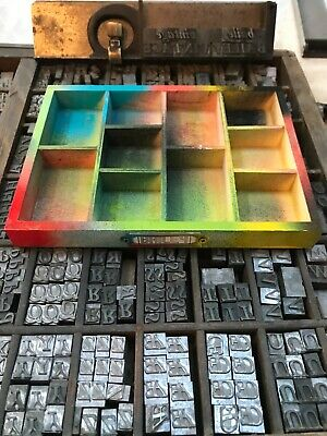 Graffiti 2 Edition Mini Tray Only For Diy Letterpress Letters Printing Display • 6£