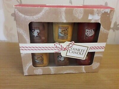 Yankee Candle Cookie Swap Votive Set Ived Gingerbread Merry Berry Linzer Rare • 3.20£