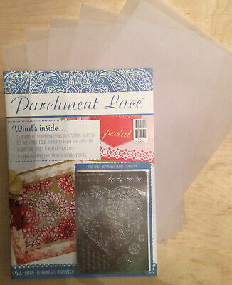 Parchment Lace Magazine Issue 4 With Free Gifts • 6£