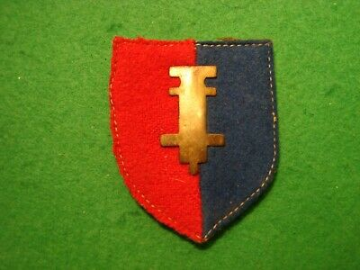 Original WW2 ? Unknown Badge Or Patch Possibly Divisional Or Formation Foreign ? • 9.99£