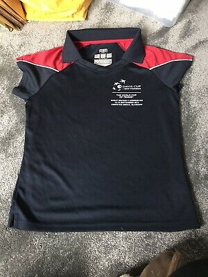 Girls Davis Cup Ball Girl Sports Top Size 32/34 • 1.50£