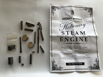 Stuart Turner Live Steam Number 10 Reversing Gear Set Of Castings With Drawings • 30£