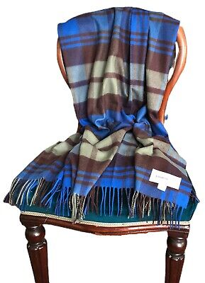 Johnstons 100% Cashmere Throw - Woven In Scotland, UK • 200£