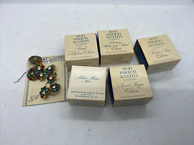 $ CDN6.53 • Buy Lot Of 13 Vintage AVON Fashion Accents Jewelry In Original Boxes Costume Jewelry
