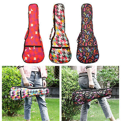 AU18.12 • Buy Ukulele Bag Concert Cotton Ukulele Case 21/23/26 Inch Padded Thick Soft Padding