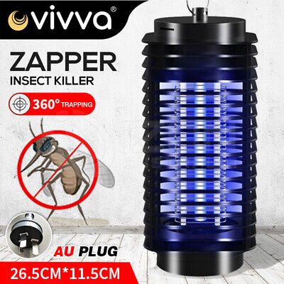 AU22.99 • Buy Electric Mosquito Killer Lamp Fly Trap Insect Bug Zapper Catcher UV Mozzie