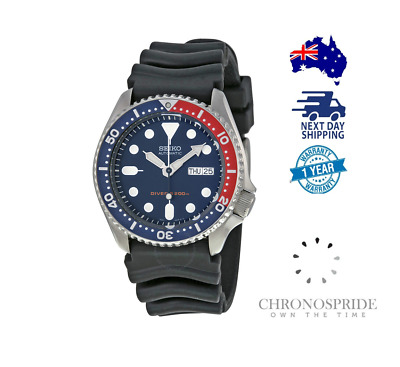 $ CDN476.66 • Buy Seiko PEPSI Rubber SKX009 SKX009K1 7S26 Automatic Mens Diver Watch