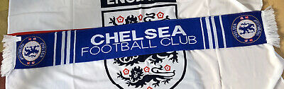 Chelsea FC Official Scarf Mint Made In UK • 4.99£