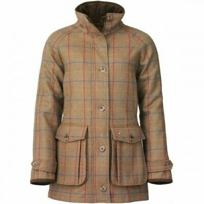 Laksen Ladies Melville Tweed Coat RRP £549 **SALE** • 297£
