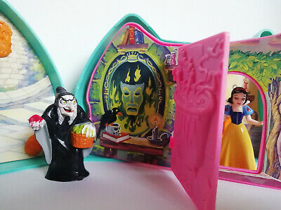 Vintage Snow White And The Seven Dwarfs Disney Playset Mattel With Figures • 8.75£