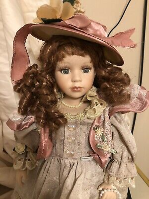 $ CDN16.59 • Buy Vintage Victorian Limited Edition Porcelain Doll From Scotland