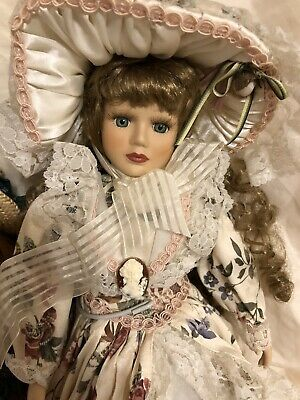 $ CDN16.59 • Buy Vintage Victorian Limited Edition Porcelain Doll From England