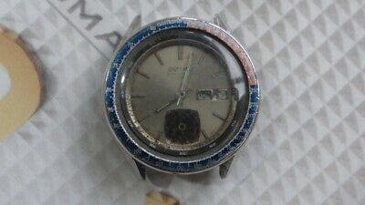 $ CDN246.34 • Buy Seiko 6139 Automatic Pepsi Bezel Chronograph Watch For Parts/Repair AS IS.,.,,,