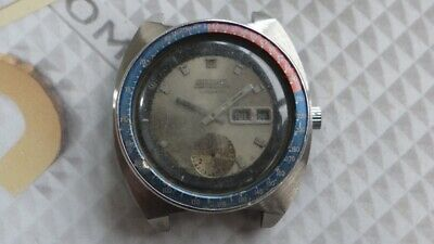 $ CDN246.34 • Buy Seiko 6139 Automatic Pepsi Bezel Chronograph Watch For Parts/Repair AS IS..