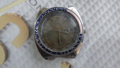 $ CDN246.34 • Buy Seiko 6139 Pepsi Bezel Automatic Chronograph Watch For Parts/Repair AS IS....
